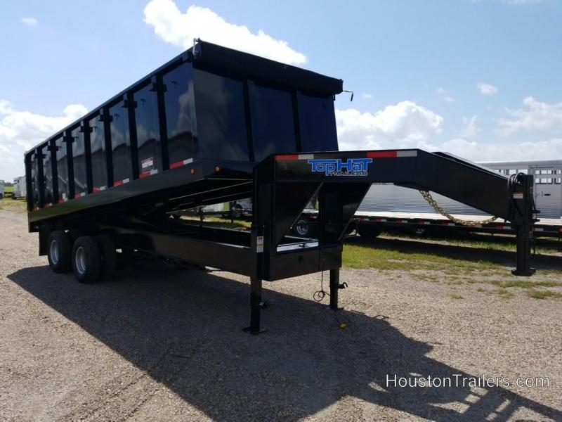 "2019 Top Hat Trailers 20' x 96"" Dump Trailer TH-210"