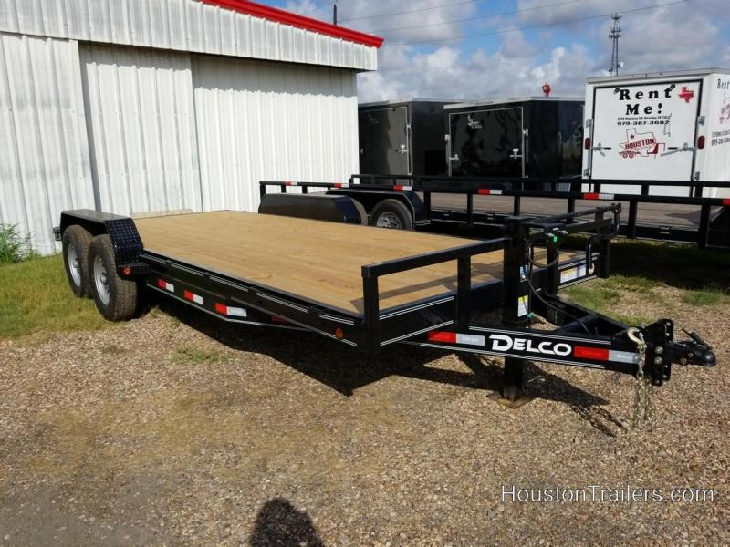 2020 Delco Trailers 20' Car Hauler Style Equipment Trailer