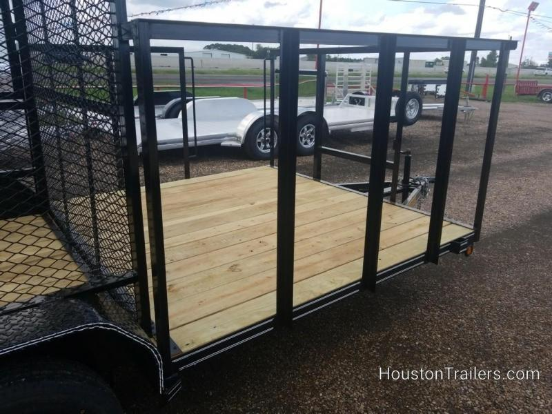 2018 Tiger 16' Trash Cage Utility Trailer TI-29