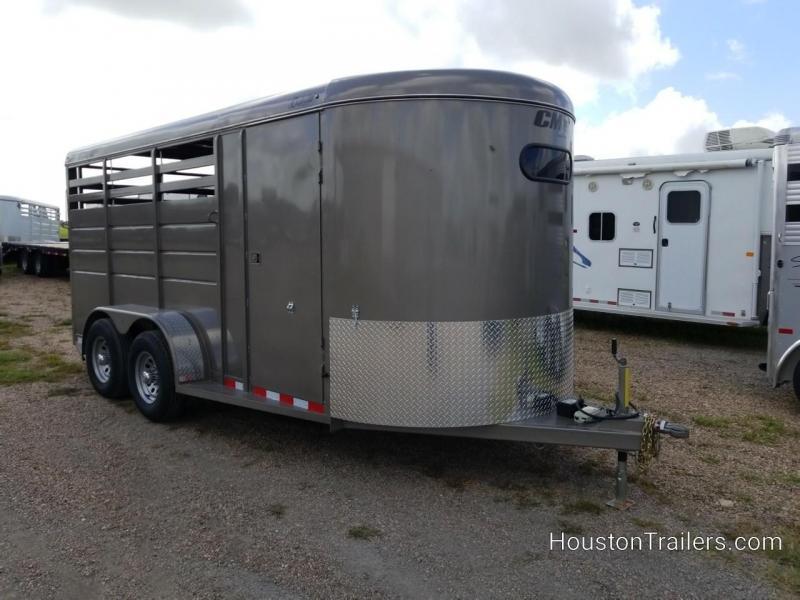 2019 CM Trailers 3H Dakota 10k Horse CM-85