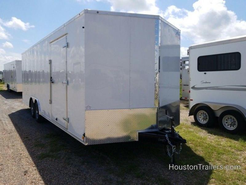 2019 Cargo Mate E-Series 8.5' x 24' Enclosed Car Trailer FR-92