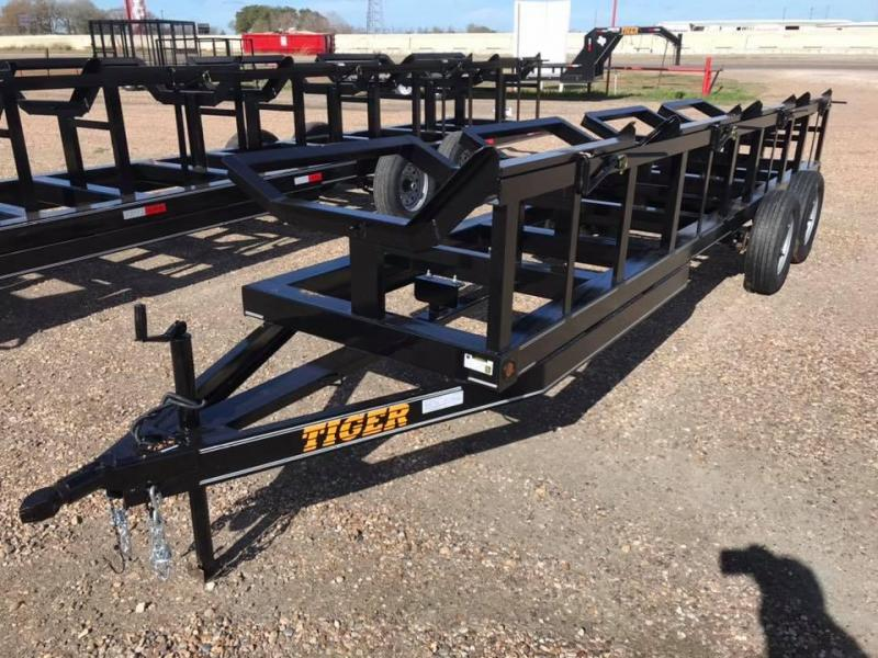 2020 Tiger 4 bale hay trailer bp 7k Other Trailer