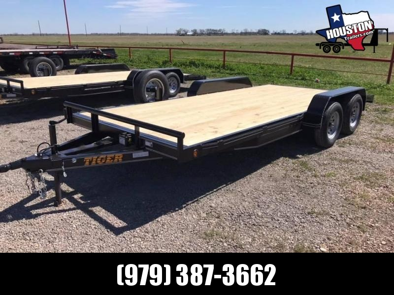 2020 Tiger 18' Carhauler 7k Car / Racing Trailer