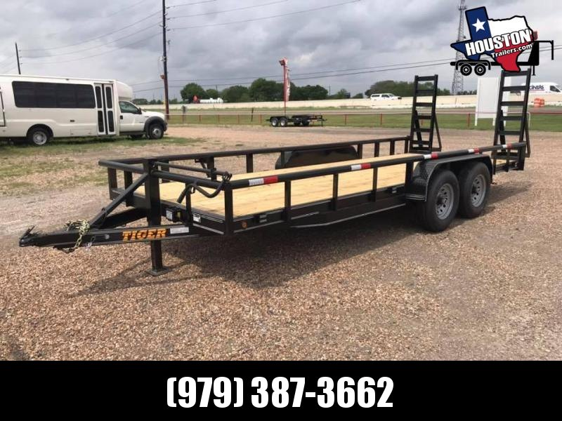 2020 Tiger 20' BP Pipetop 14k Equipment Trailer