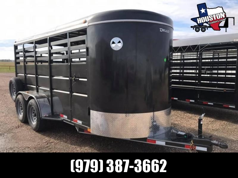 2020 Delco Trailers 16 x 6 Livestock BP 10k Livestock Trailer