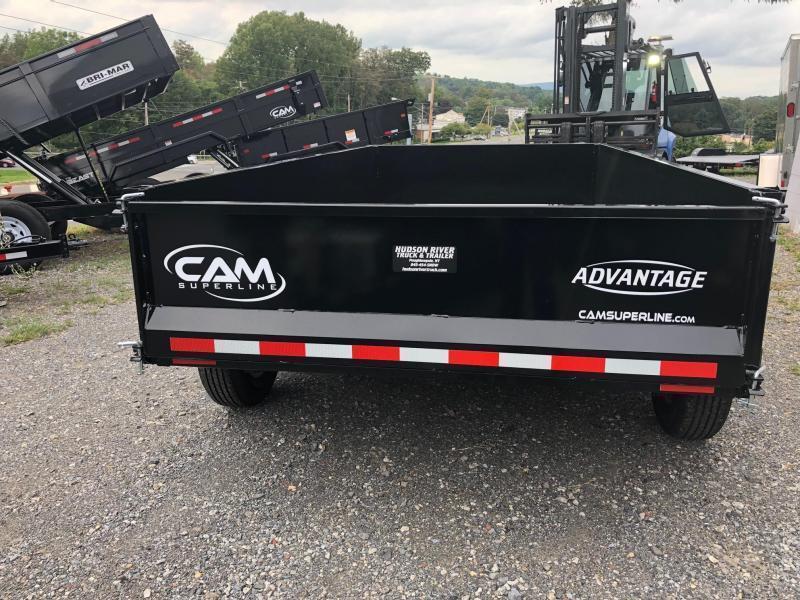 CAM ADVANTAGE 2020 5-TON 6' x 12' FT LOW PROFILE DUMP TRAILER