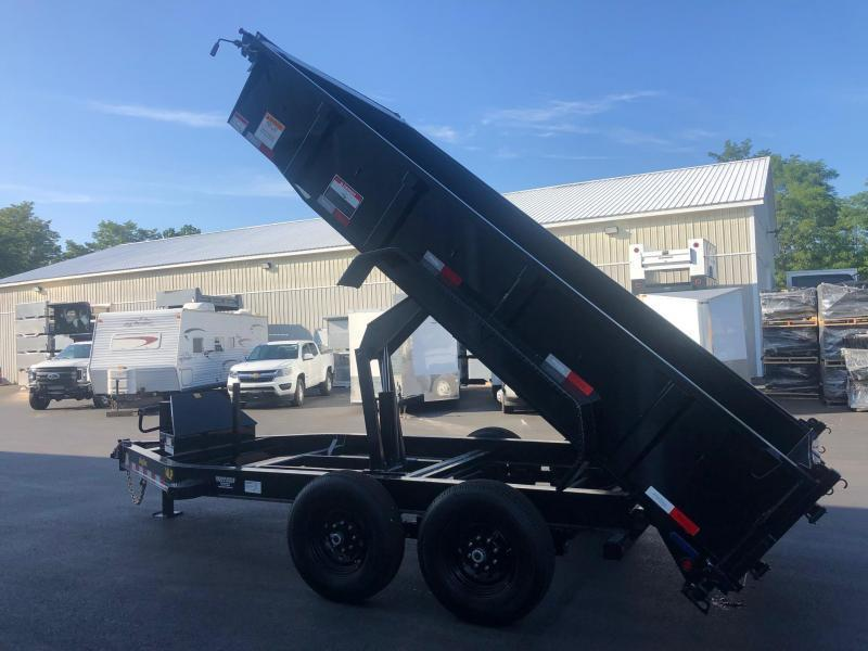 BIGTEX 2020 7X14 14LP 14K TANDEM AXLE LOW PROFILE DUMP TRAILER