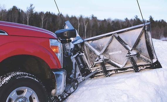 FisherXLS Winged Snow Plow