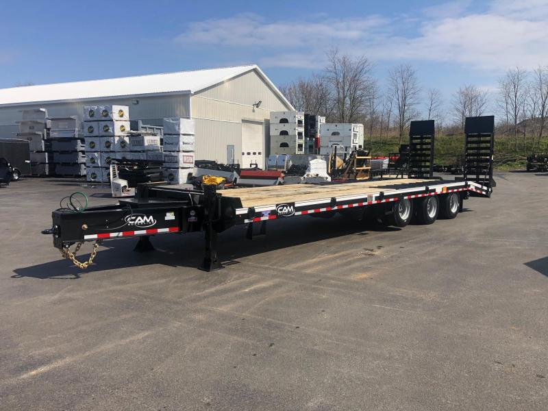 CAM 2020 8.5' X 26+5' 25-TON HEAVY DUTY DECKOVER EQUIPMENT TRAILER