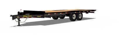 2020 Big Tex 26' Flatbed Tilt Deck Equipment Trailer
