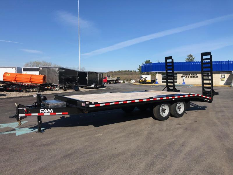 2020 Cam Superline 8CAM820DO 8.5X16+4 Standard Duty Deckover Construction Trailer Equipment Trailer