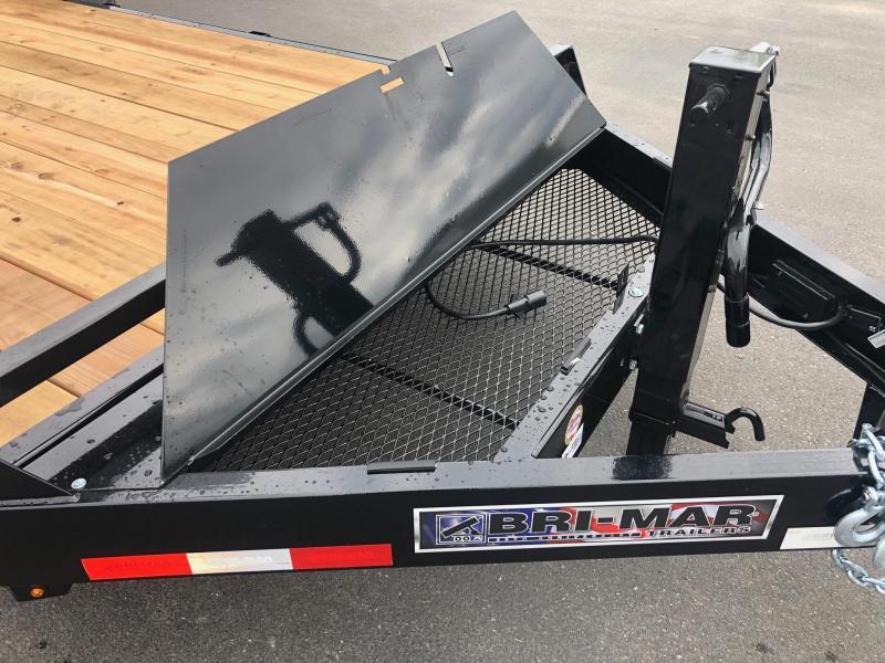 2020 Bri-Mar EH20-14-HD 6.8X20 Equipment Trailer
