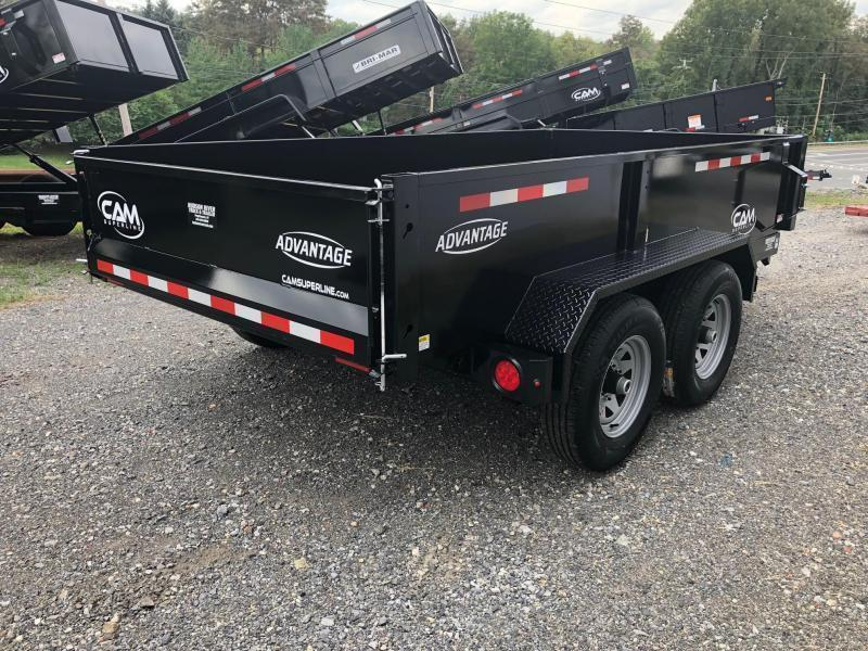 CAM ADVANTAGE 2020 5-TON 6' x 12' FT LOW PROFILE DUMP TRAILER