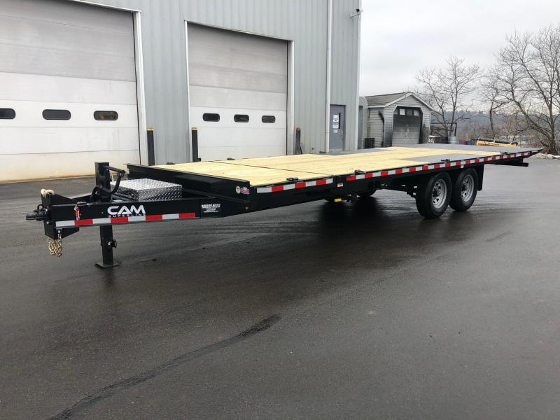 2020 Cam Superline 7CAM824DOSTT Equipment Trailer