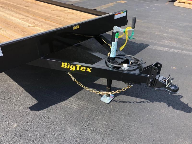 BIGTEX 2020 70CH 7' X 18' TANDEM AXLE CAR HAULER/ EQUIPMENT TRAILER