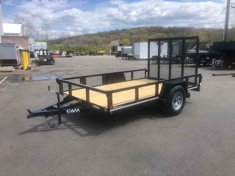 2020 Cam Superline 6X10SA TUBE TOP STP7210TA-B-030 Utility / Landscape Trailer