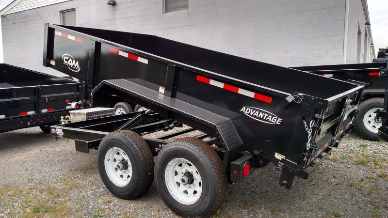 CAM ADVANTAGE 2020 6' x 12' LOW PROFILE HEAVY DUTY DUMP TRAILER (12-6812LPHDT)
