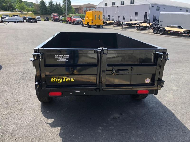 BIGTEX 2020 5' X 8' SINGLE AXLE SINGLE RAM DUMP TRAILER