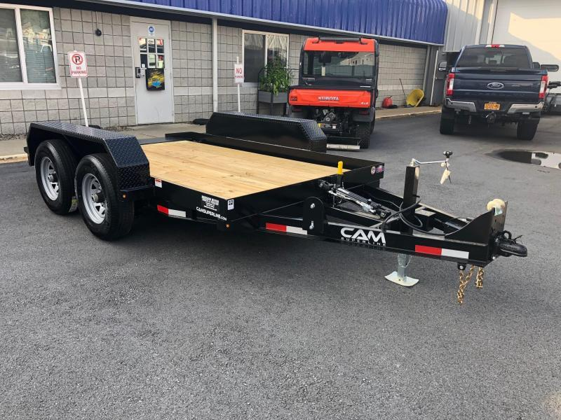 CAM 2020 5-TON 6' x 12' TANDEM AXLE TILT EQUIPMENT TRAILER
