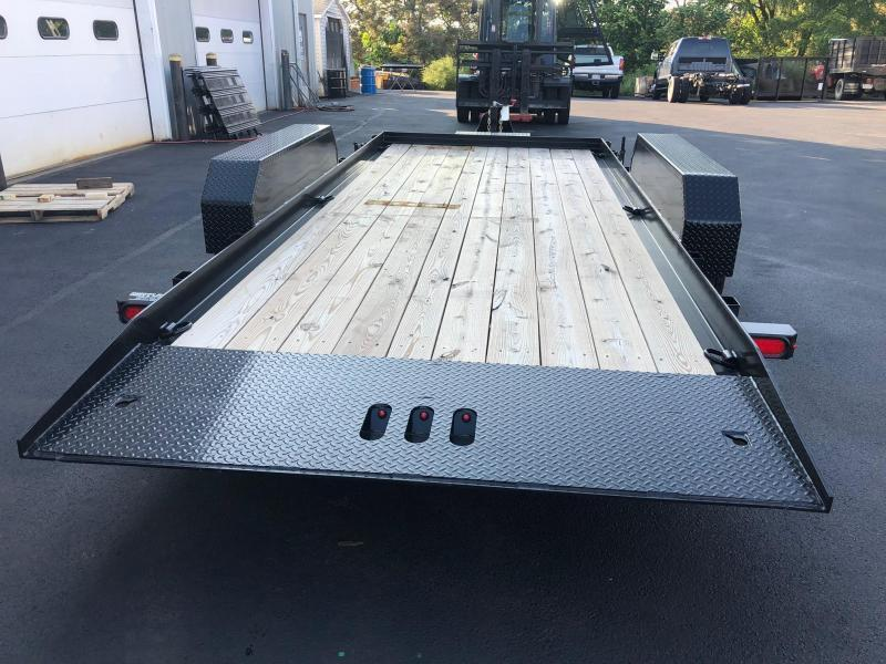 CAM 2020 7TON  8.5X18' FULL TILT EQUIPMENT TRAILER