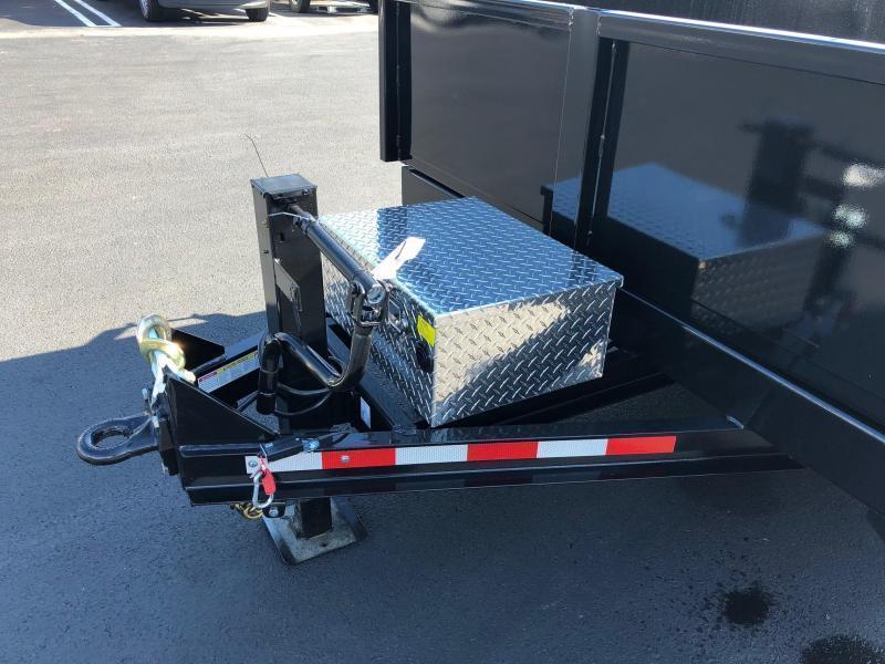 CAM 2020 7-TON 14 FT  LOW PROFILE HD DUMP TRAILER
