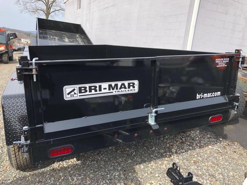 BRI-MAR 2020  6' x 12' TANDEM AXLE LOW PROFILE DUMP TRAILER