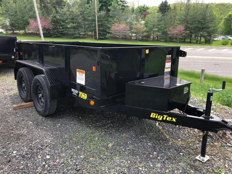 BIGTEX 2020 5' x 10' TANDEM AXLE BLACK DUMP TRAILER