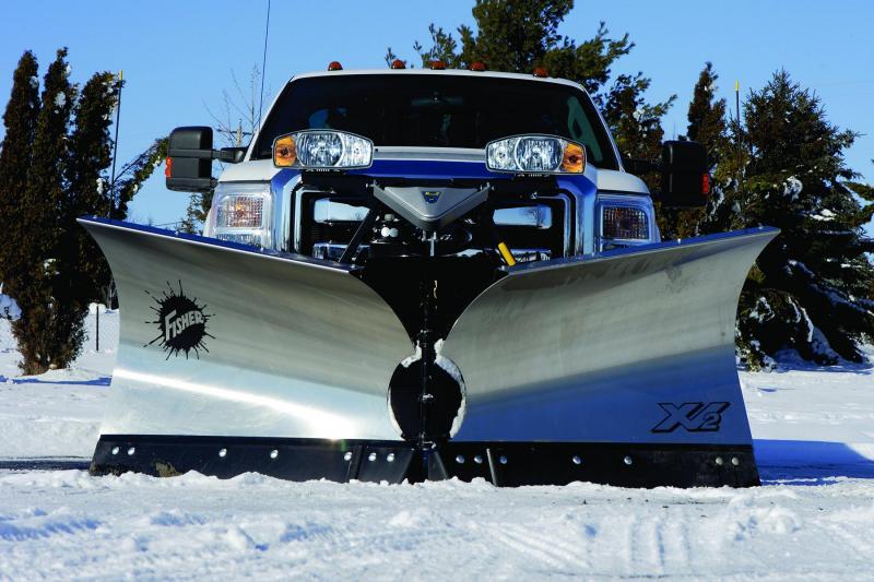"Fisher 8' 6"" XV2 Snow Plow"