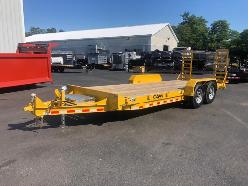CAM 2019 6CAM20C 8.5' X 20' CHANNEL FRAME EQUIPMENT HAULER