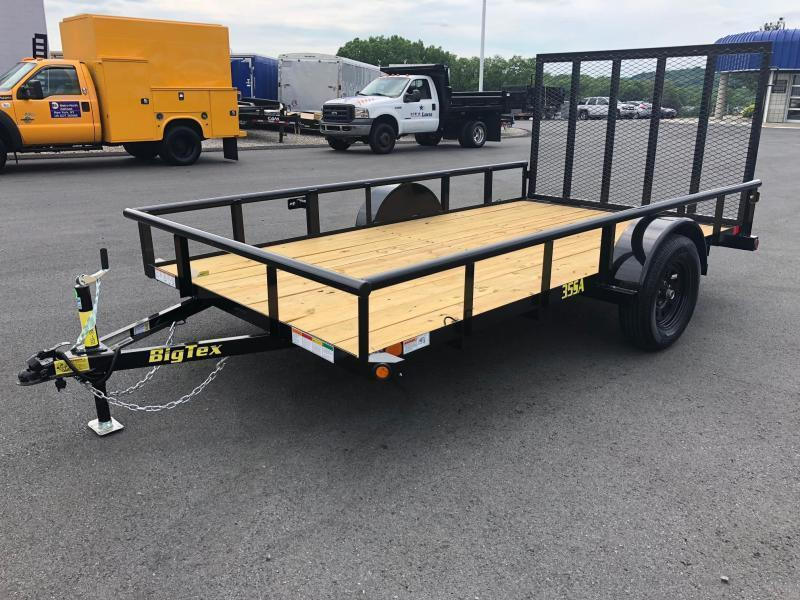 BIGTEX 2020 35SA 6.5' x 10' SINGLE AXLE LANDSCAPE / UTILITY TRAILER