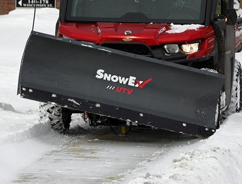 SnowEx UTV Straight Blade Snow Plow