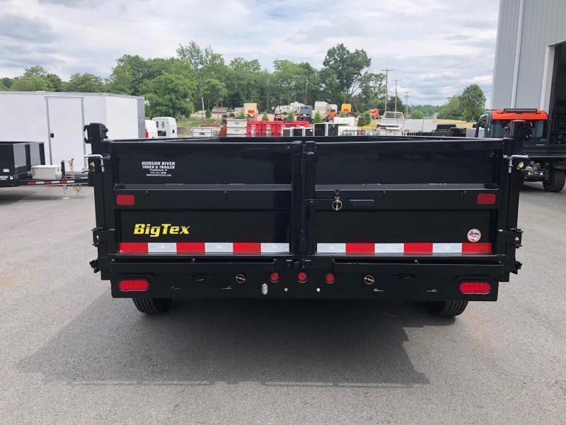 BIGTEX 2020 14LX-14 (7' x 14') BLACK HEAVY DUTY TANDEM  DUMP TRAILER