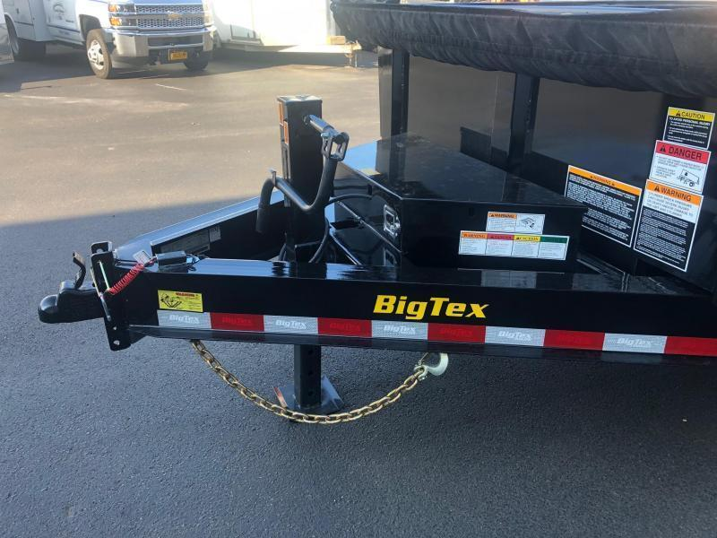 BIGTEX 2020 7X16 14LP 14K TANDEM AXLE LOW PROFILE DUMP TRAILER