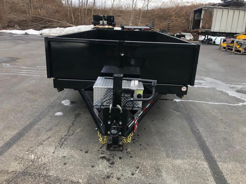 CAM 2019 8-TON 14 FT LOW PROFILE HD DUMP TRAILER