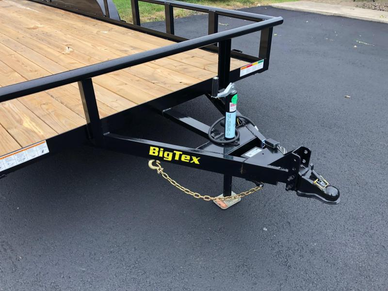 BIGTEX 2020 7' x 20' (70PIX) Tandem Axle Pipe Landscape / Utility Trailer