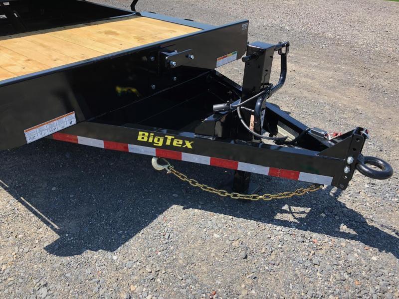 BIGTEX 2019 16TL 7' x 20' SUPER DUTY TILT BED EQUIPMENT TRAILER
