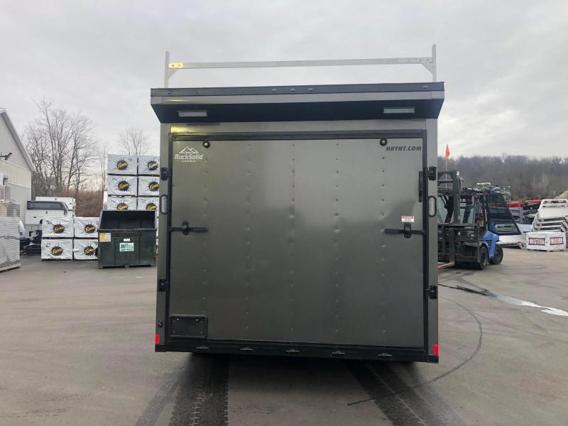 2020 Rock Solid Cargo 8.5X16CH-3500LB Enclosed Cargo Trailer
