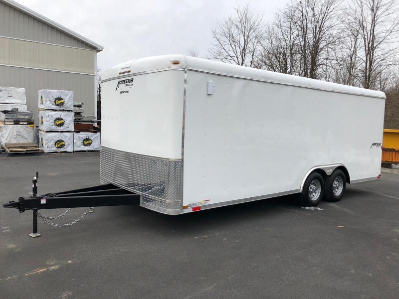 2020 Homesteader 820HT White Enclosed Cargo Trailer