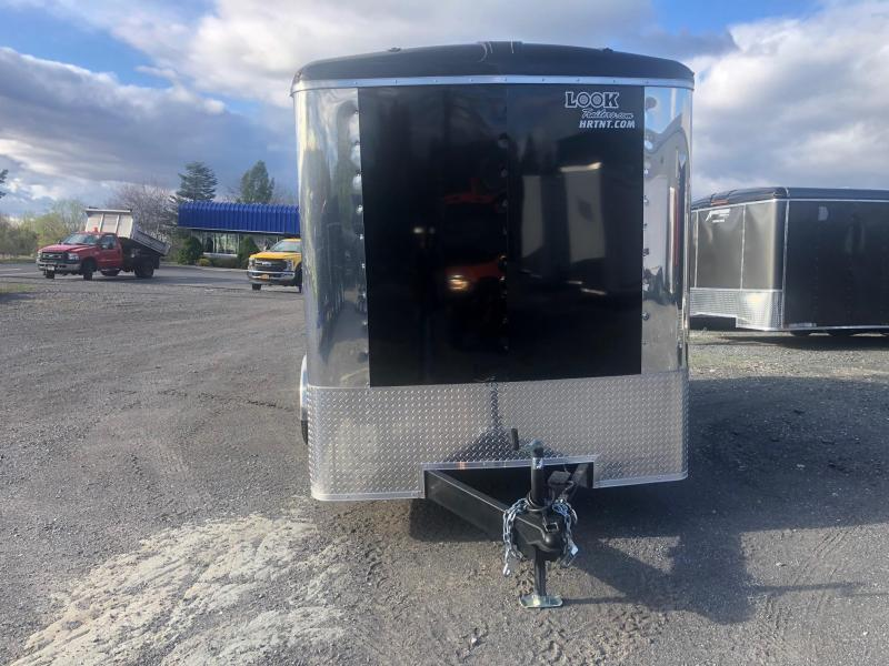 2020 Look Trailers Black VRLC7X14TE2 Round Top Enclosed Cargo Trailer