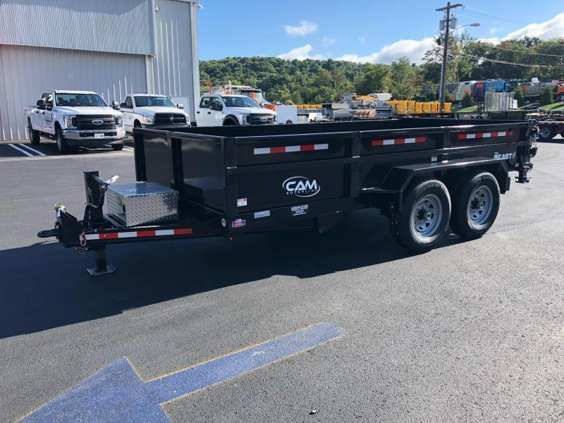 CAM 2020 7-TON 6 x 16 FT LOW PROFILE HEAVY DUTY DUMP TRAILER