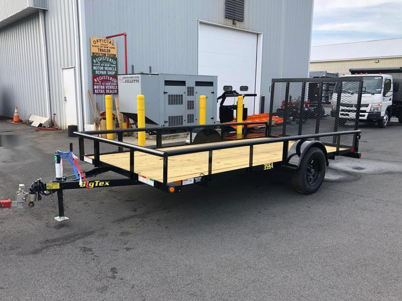 BIGTEX 2020 35SA SINGLE AXLE 6.5' x 14' LANDSCAPE / UTILITY TRAILER