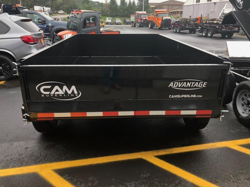 CAM 2020 6' x 10' LOW PROFILE DUMP TRAILER  10000 lb. GVW