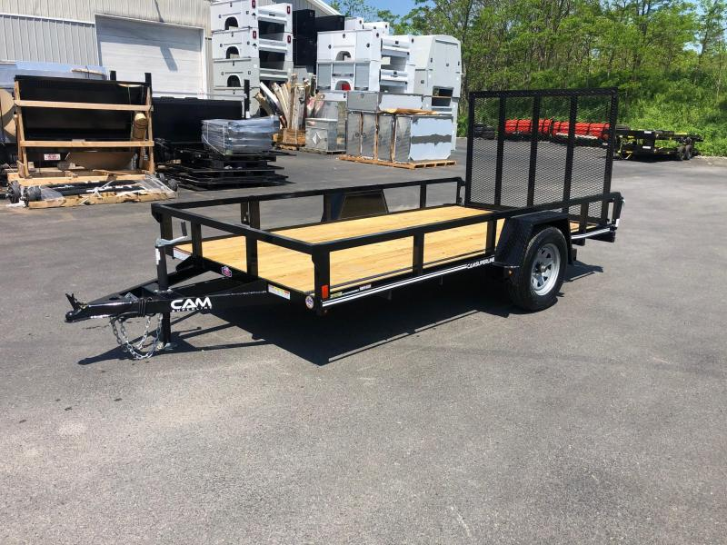 2020 Cam Superline 6 x 12 SA Tube Top Utility Trailer