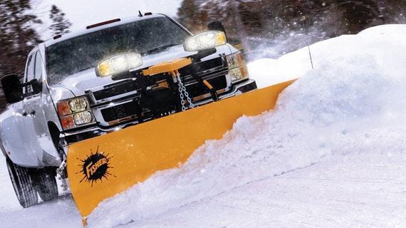 FisherHD2 Straight Blade Snow Plow