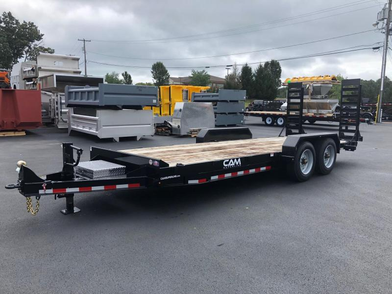 CAM 2020 8CAM20 8.5' X 20' CHANNEL FRAME EQUIPMENT HAULER