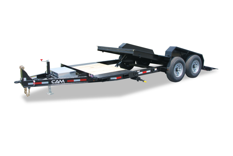 CAM 2020 8.5X16+4 7 TON TILT TRAILER SPLIT DECK EXTRA WIDE EQUIPMENT TRAILER