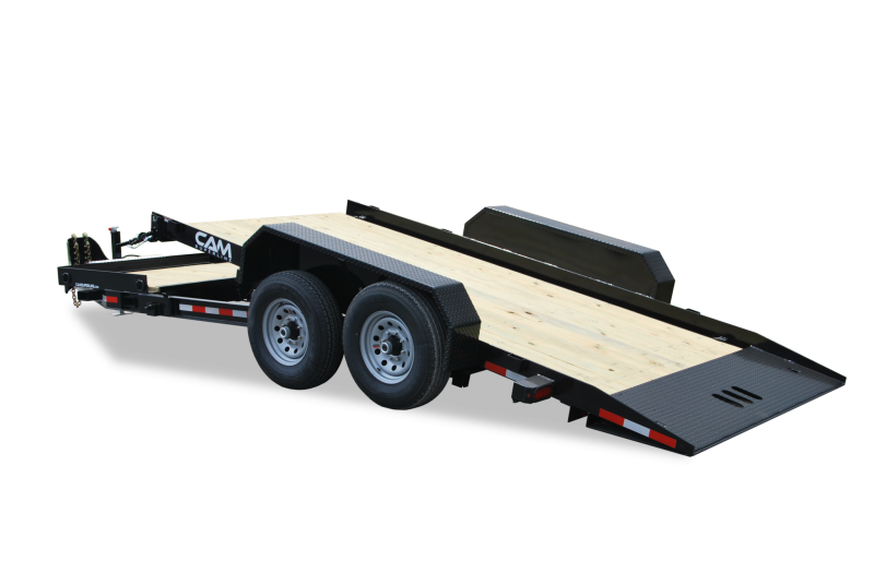 CAM 2020 7-TON 8.5' X 19' SPLIT TILT EQUIPMENT TRAILER