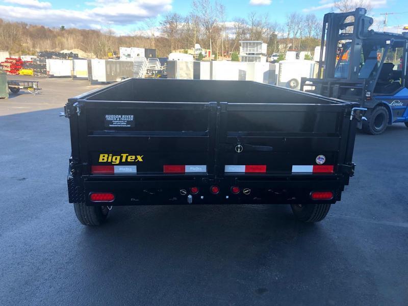 BIGTEX 2020 6' x 10' TANDEM AXLE BLACK DUMP TRAILER