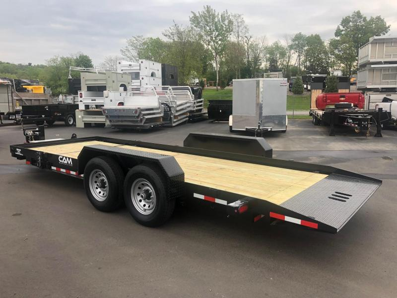CAM 2019 7CAM20 8.5' X 21' SPLIT TILT EQUIPMENT  TRAILER
