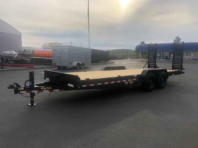 BIGTEX 2020 7' x 22' 16ET SUPER DUTY TANDEM AXLE EQUIPMENT TRAILER  17000 lb. GVW